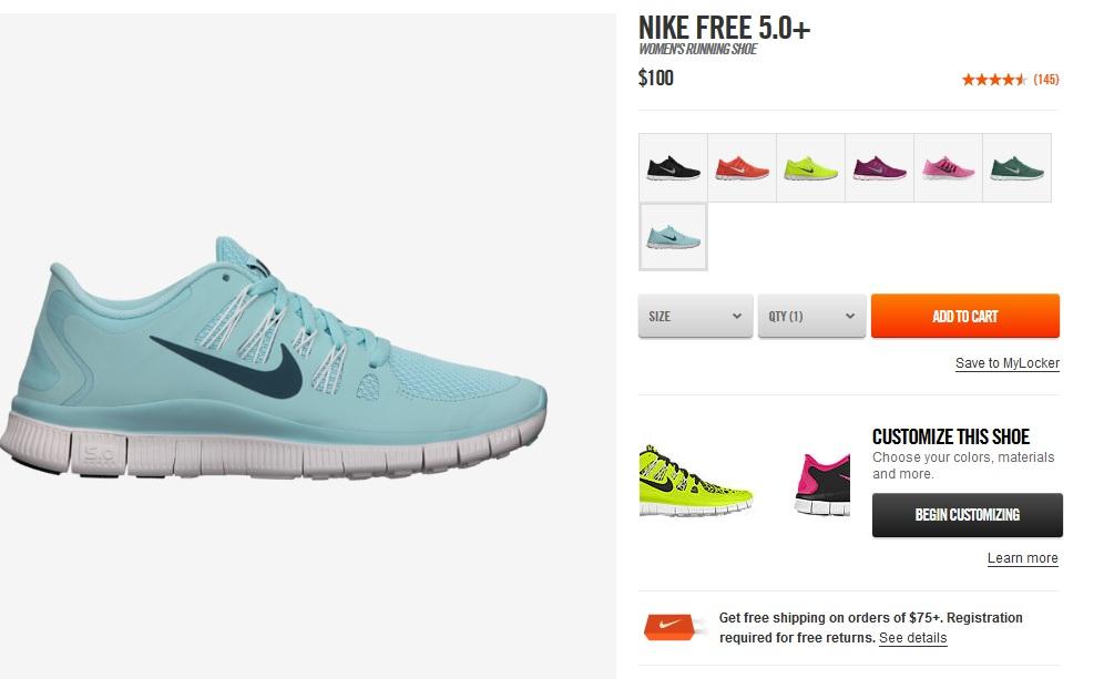 13e3e845f29f Fashion Finds  Nike 5.0+ Running Shoes