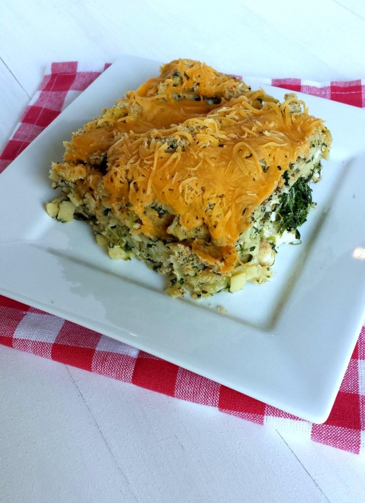Spinach Fettuchini Casserole 21 743x1024 Spinach & Chicken Fettuccine Casserole