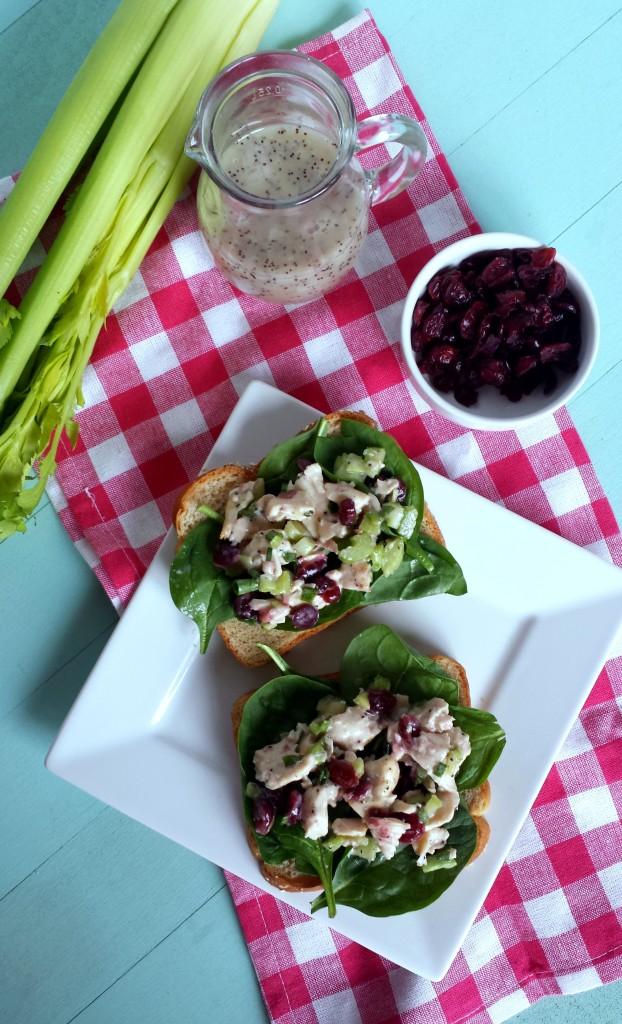 Cranberry Chicken Salad 6 622x1024 Cranberry Chicken Salad