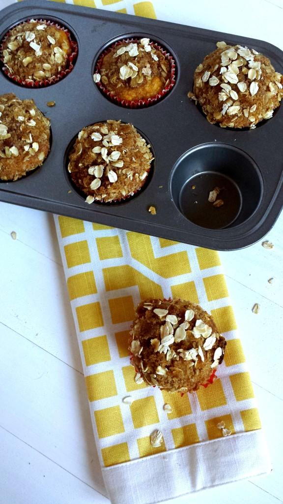 Pumpkin Banana Muffins 2