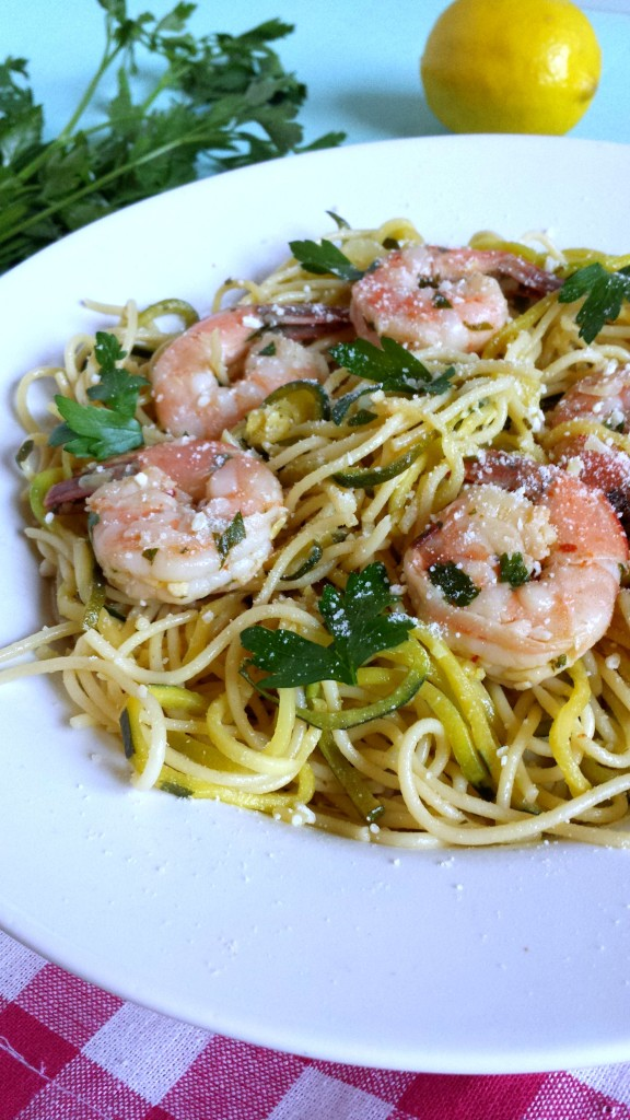Shrimp Scampi with Zoodles 21 576x1024 Shrimp Scampi with Zoodles