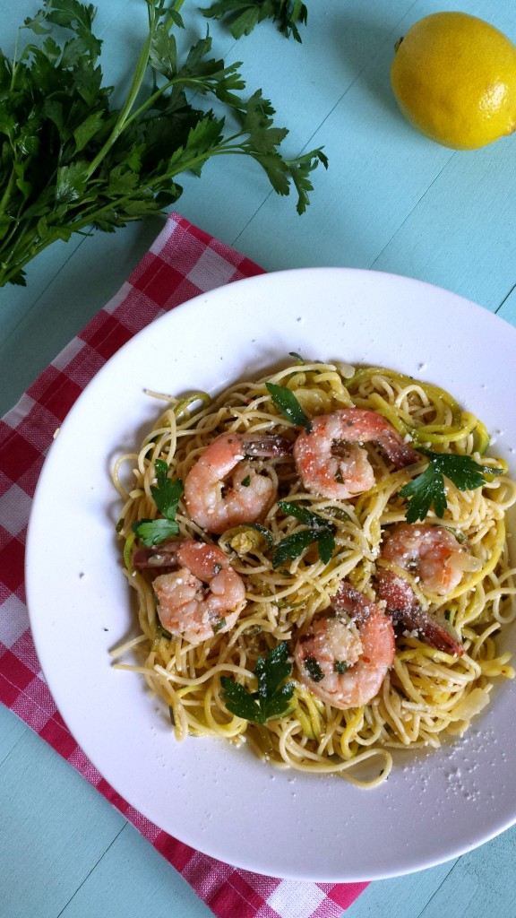 Shrimp Scampi with Zoodles 5 576x1024 Shrimp Scampi with Zoodles