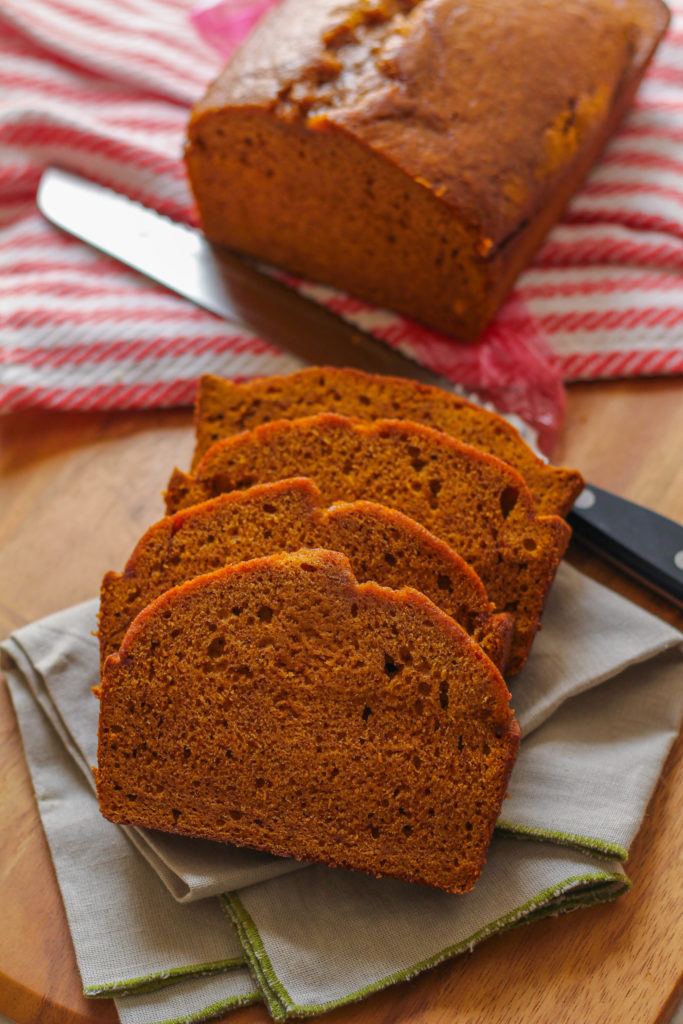 Super moist and and soft, this is the ultimate pumpkin bread recipe!