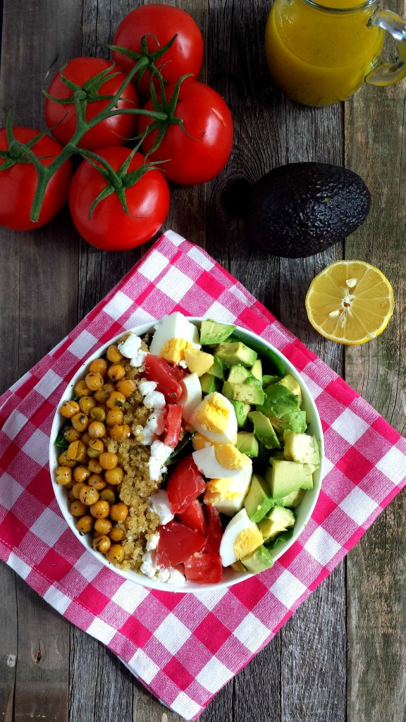 Chickpea Cobb Salad 1