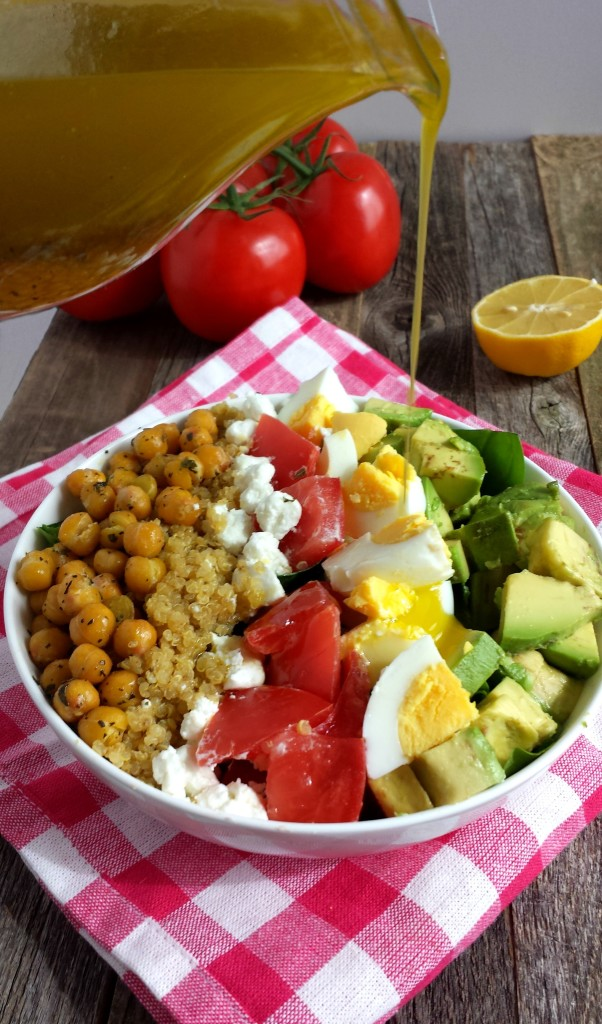 Chickpea Cobb Salad 8