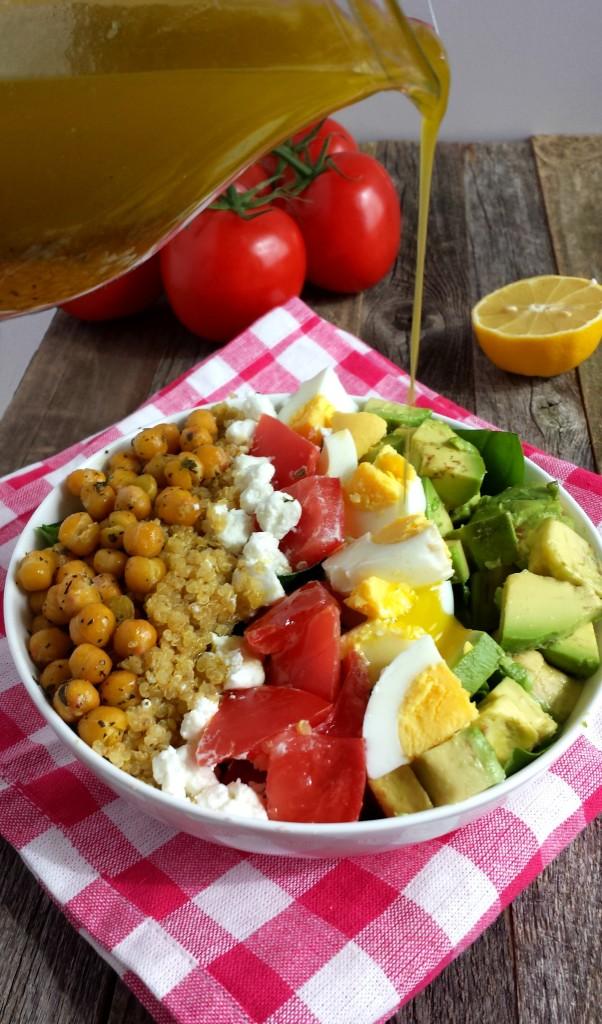 Chickpea Cobb Salad 8