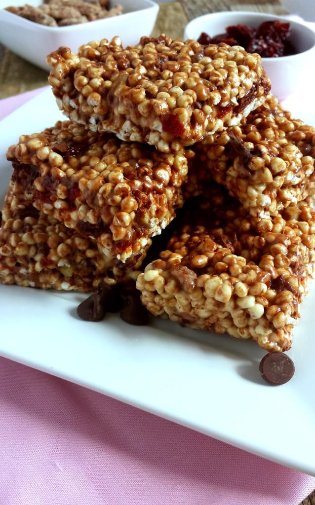 Chocolate Cherry Pecan Millet Puffs 5