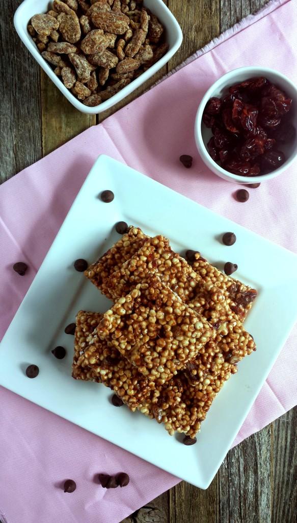 Chocolate Cherry Pecan Millet Puffs 6