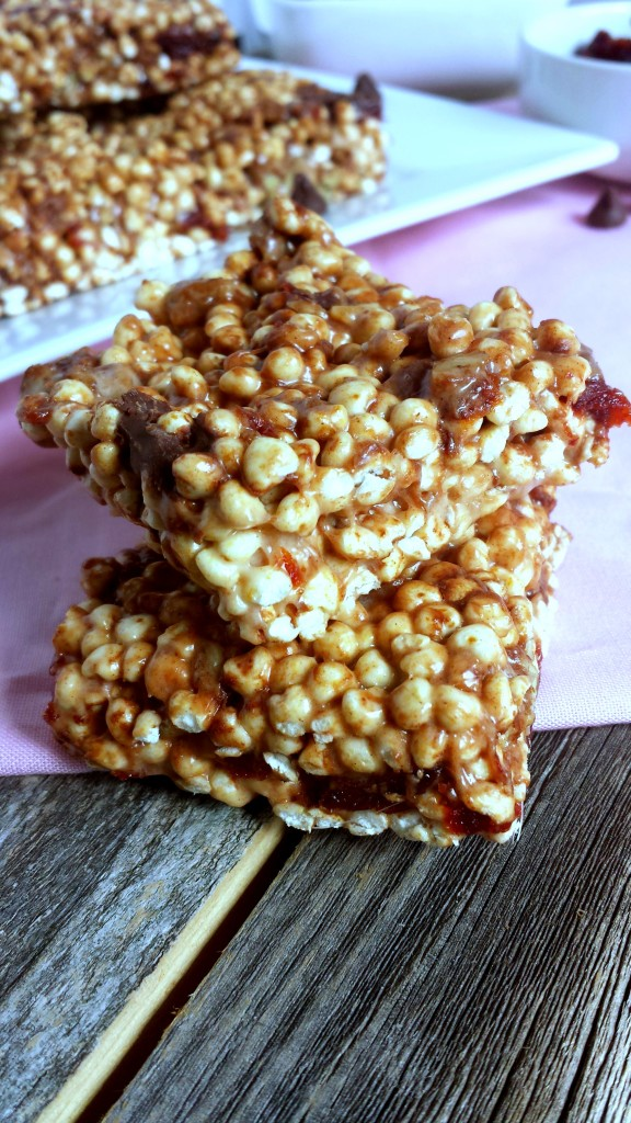 Chocolate Cherry Pecan Millet Puffs 7