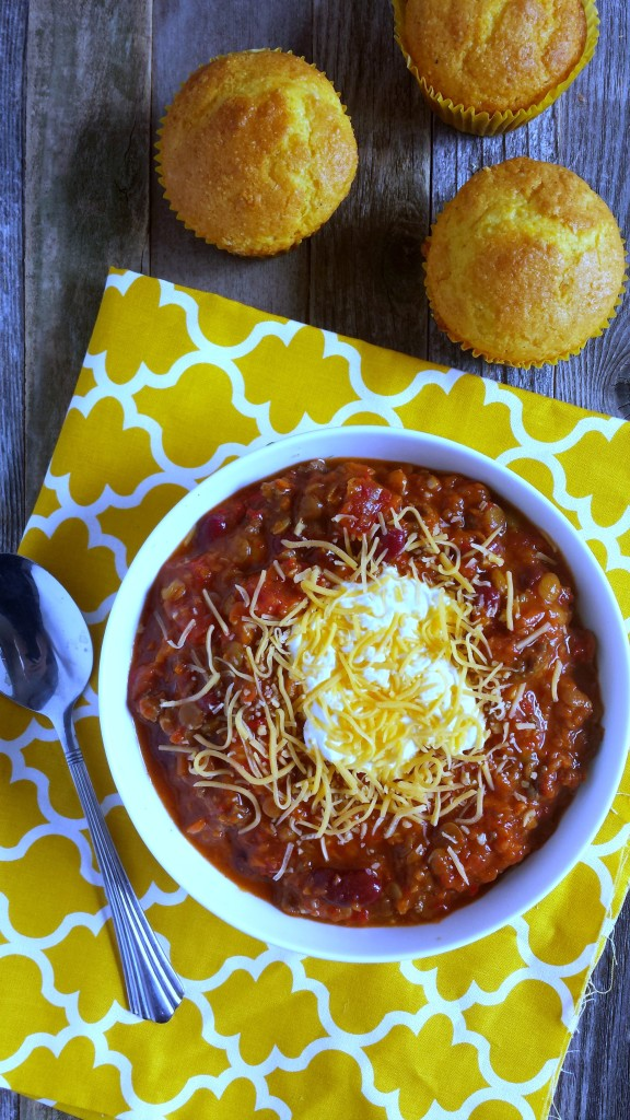 Beef and Lentil Chili 1