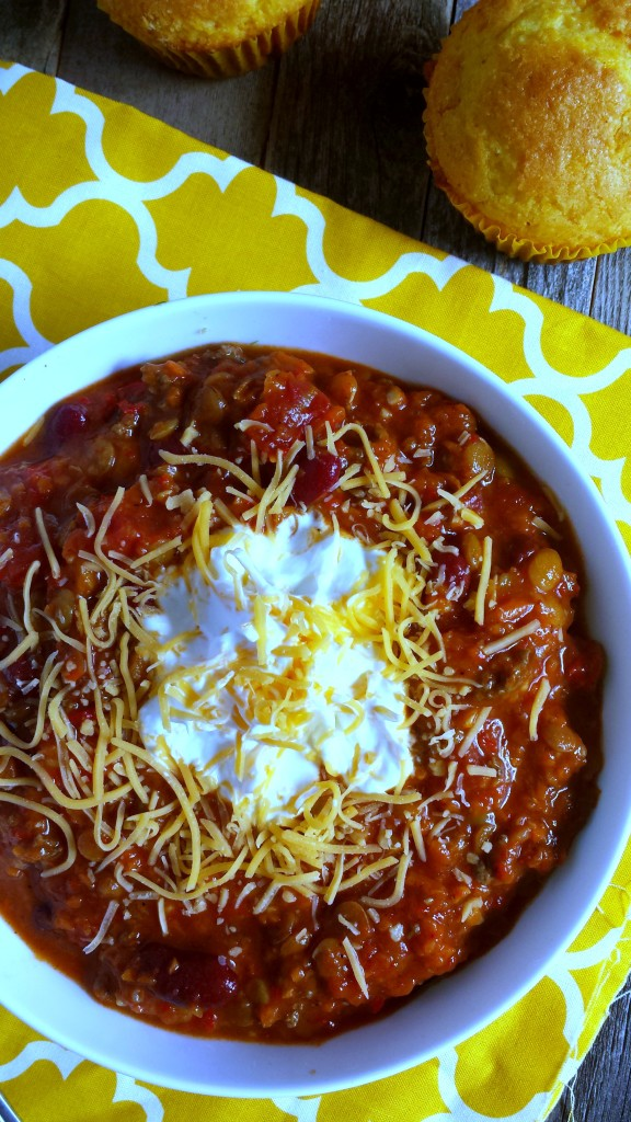 Beef and Lentil Chili 4