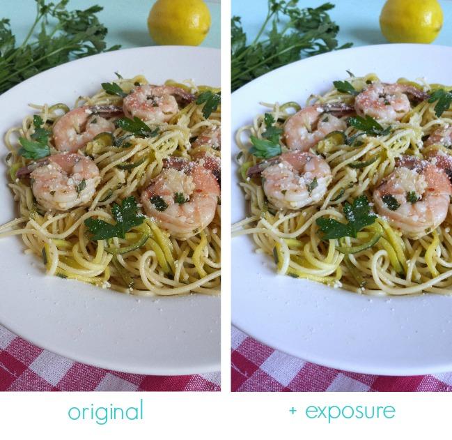 original vs exposure