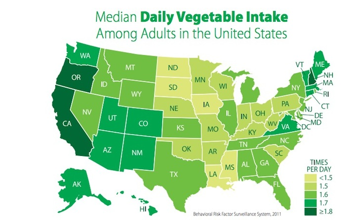Map-of-Fruits-and-Veg-Consumption-USA