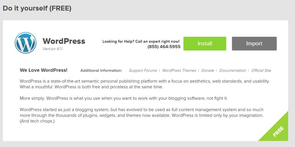 install wordpress2