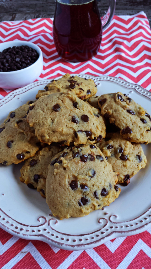 Chocolate Chip Cookies Sweetened with White Grape Juice Reduction