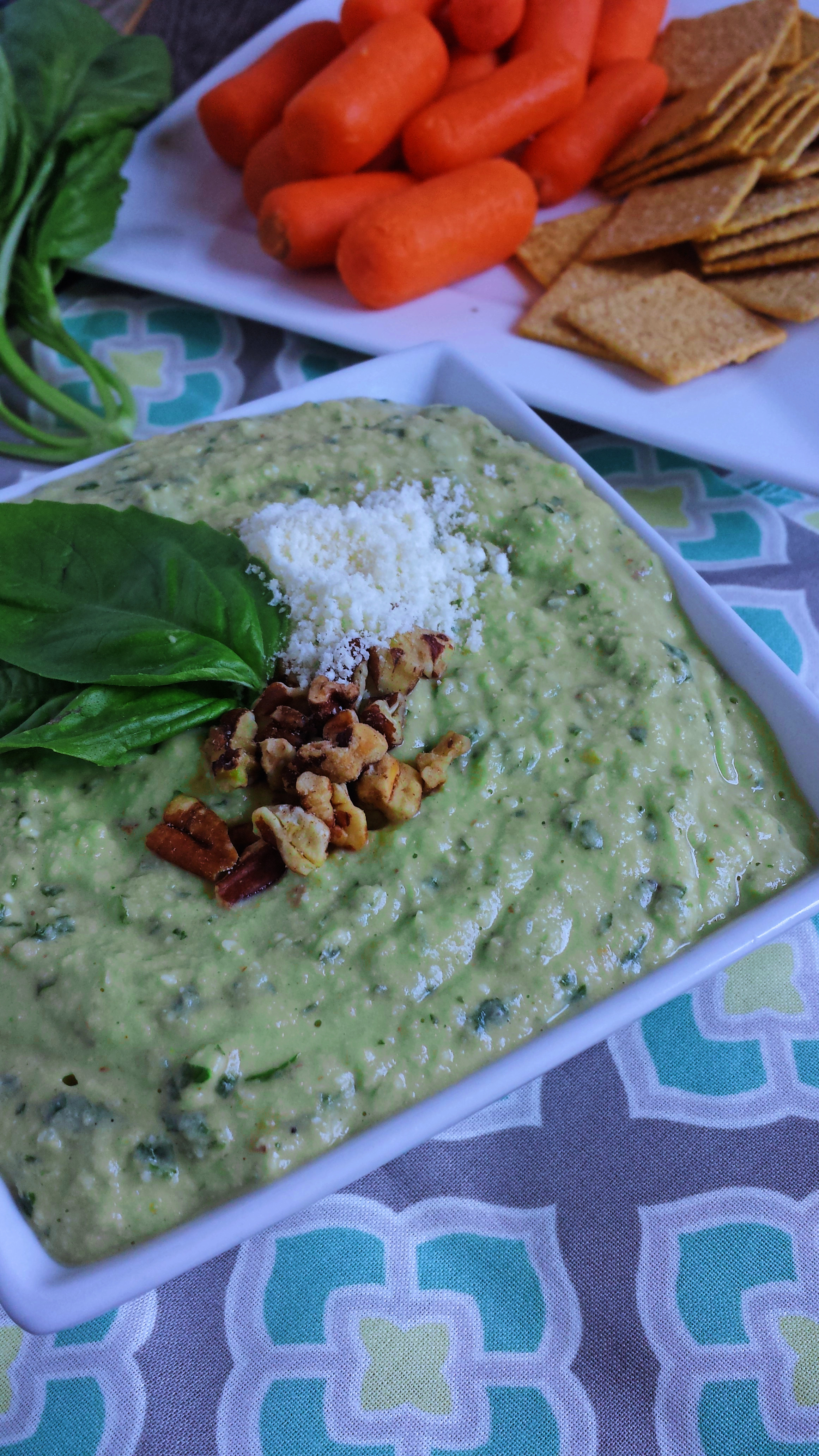 Zoes Kitchen Pesto Hummus Recipe