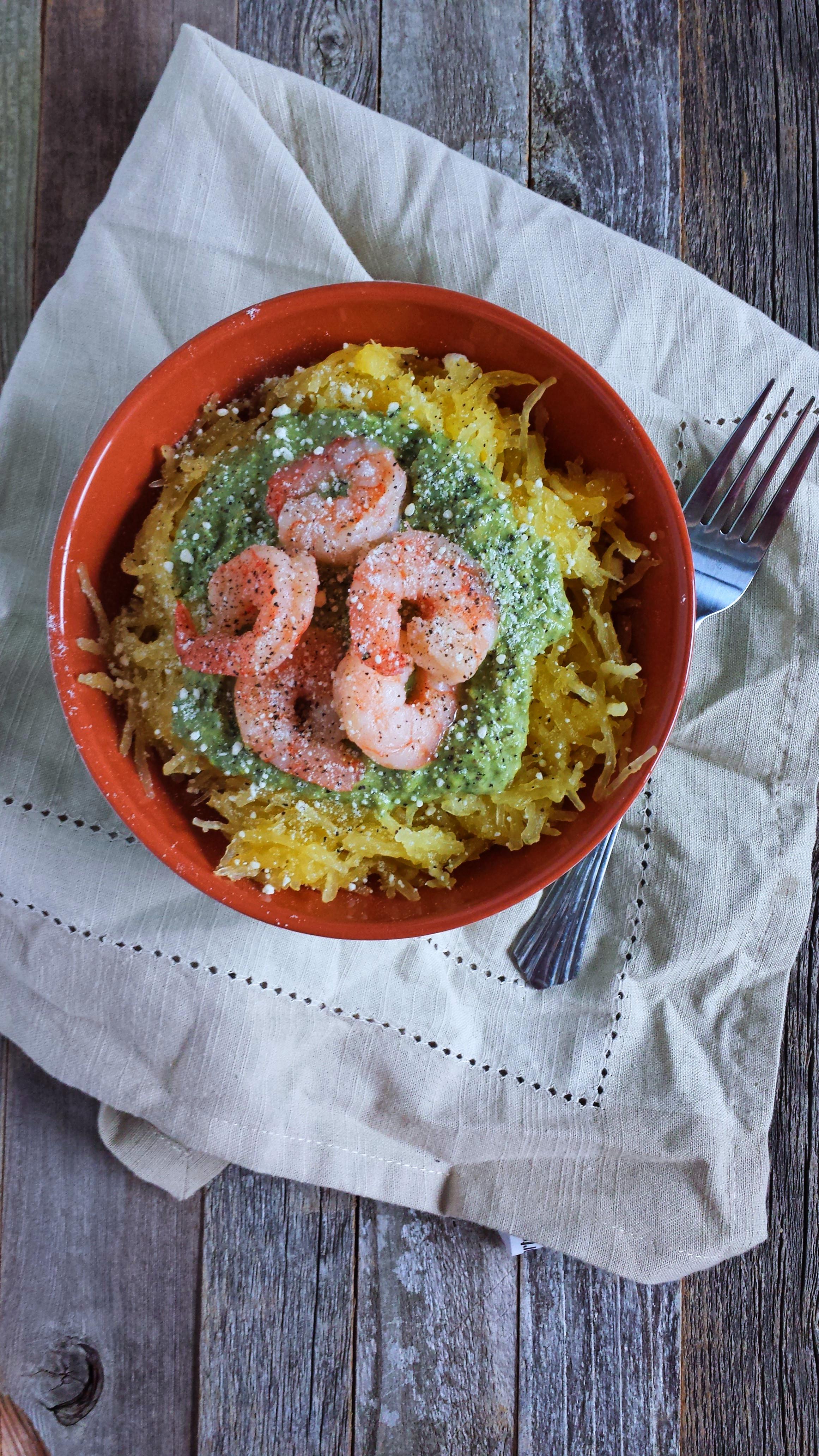 shrimp spaghetti squash 2