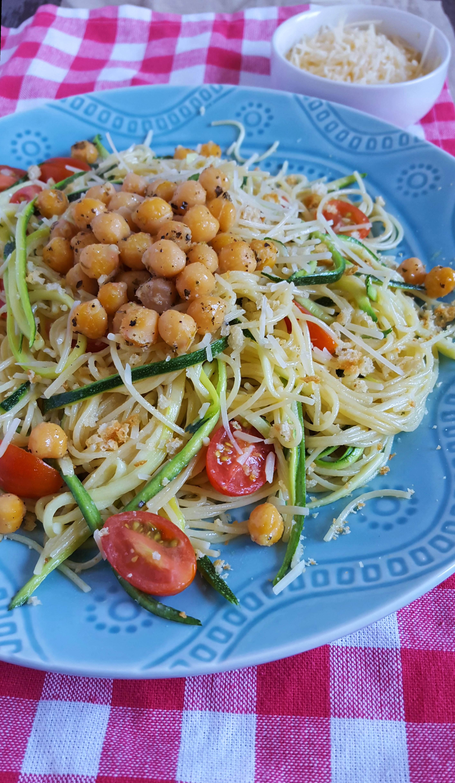 Caesar pasta salad 1