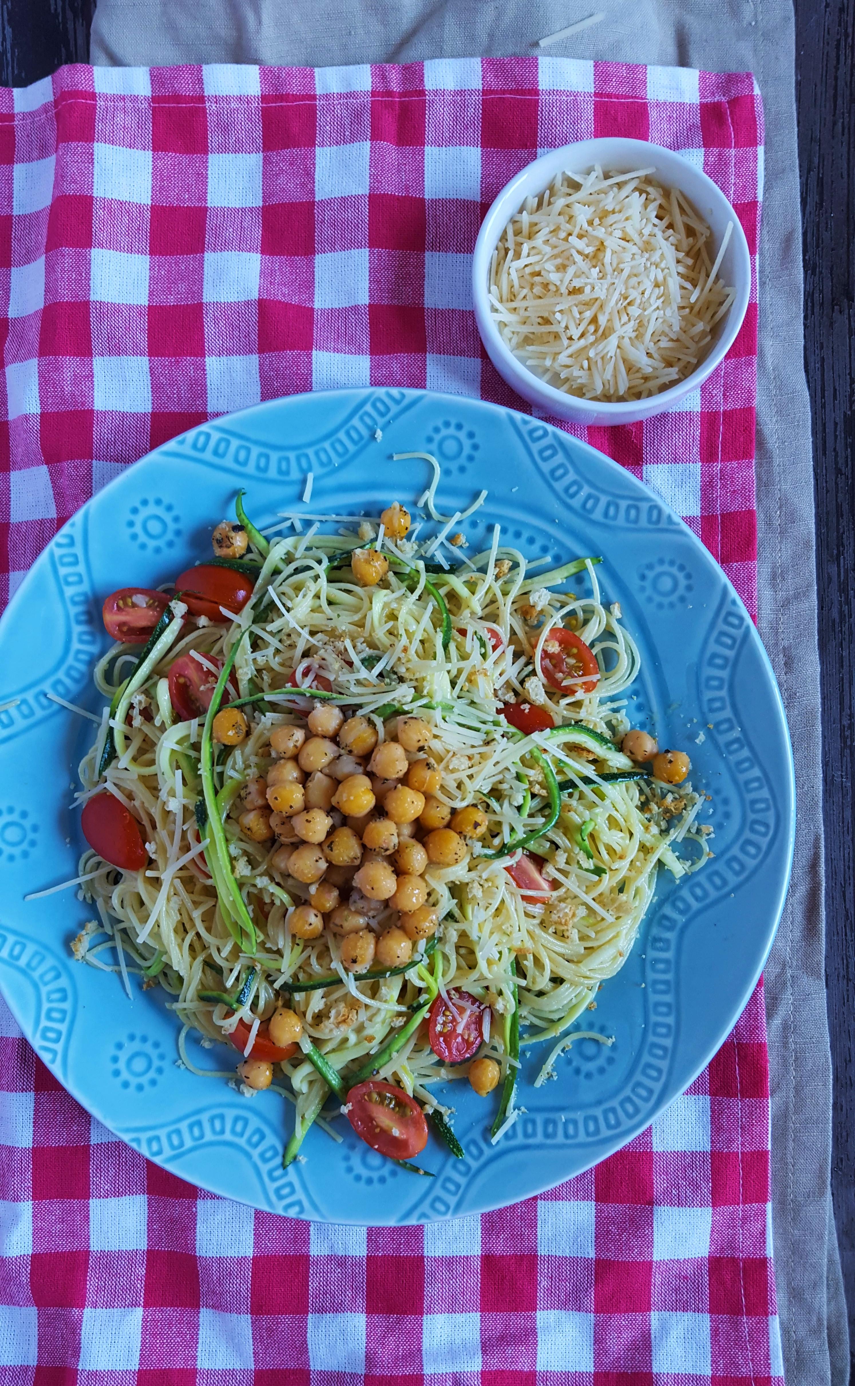 caesar pasta salad 6