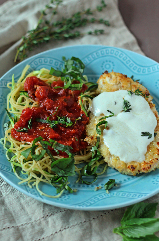 Easy Baked Chicken Parmesan|Zen & Spice