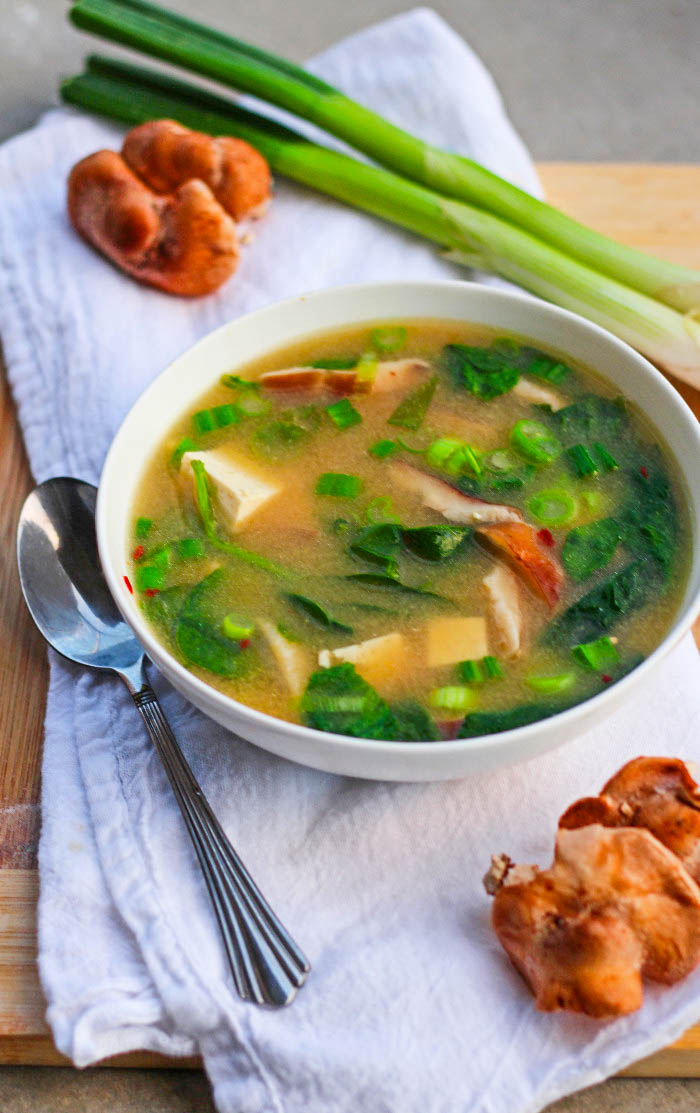 5-Minute Miso Soup for One