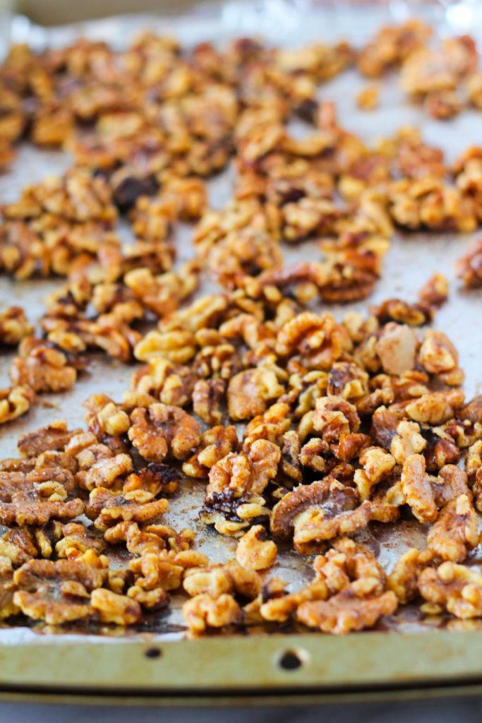 Cinnamon Sugar Toasted Walnuts