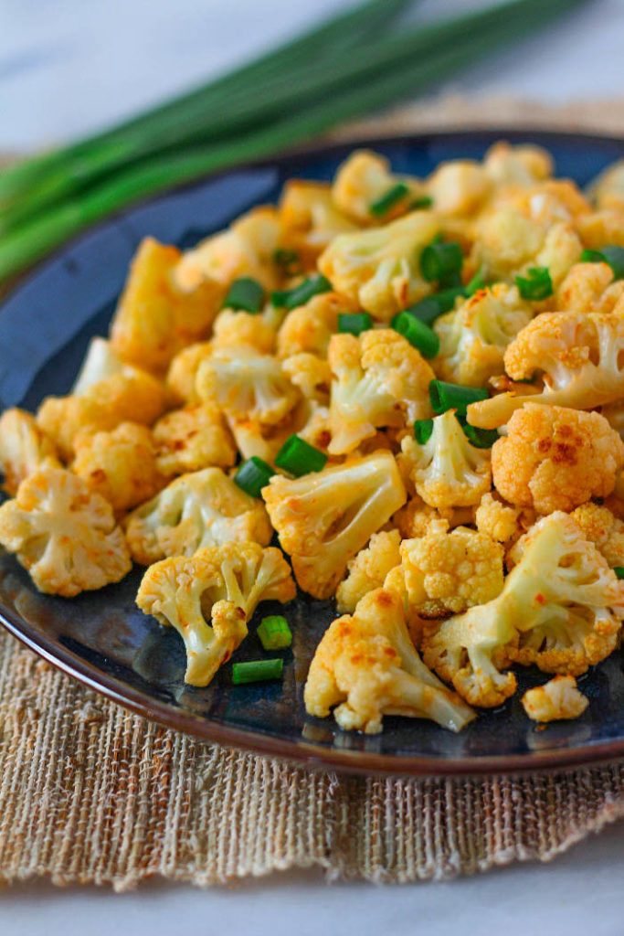 Roasted Sweet Chili Cauliflower | Roasted cauliflower recipe | Healthy cauliflower recipe