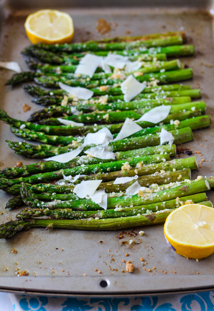 Roasted Garlic & Lemon Asparagus | Zen & Spice