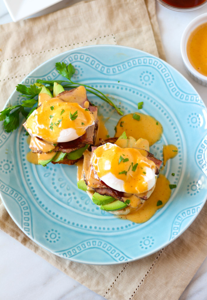 BBQ Brisket Eggs Benedict | Zen & Spice