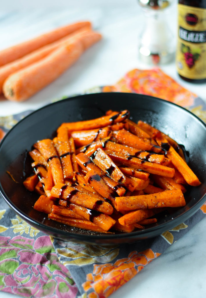 How To Make: Roasted Carrots with Balsamic Glaze