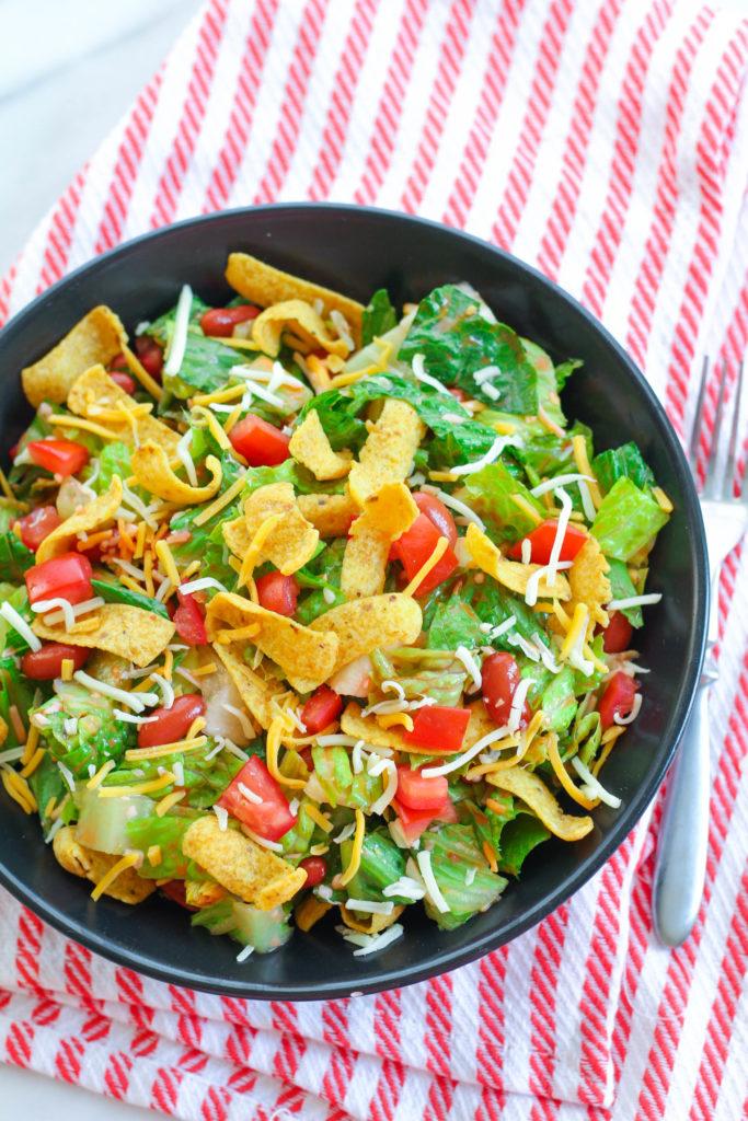 Frito Taco Salad | Zen & Spice
