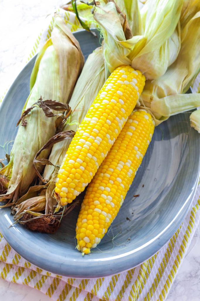 Baked Corn on the Cob | Zen & Spice