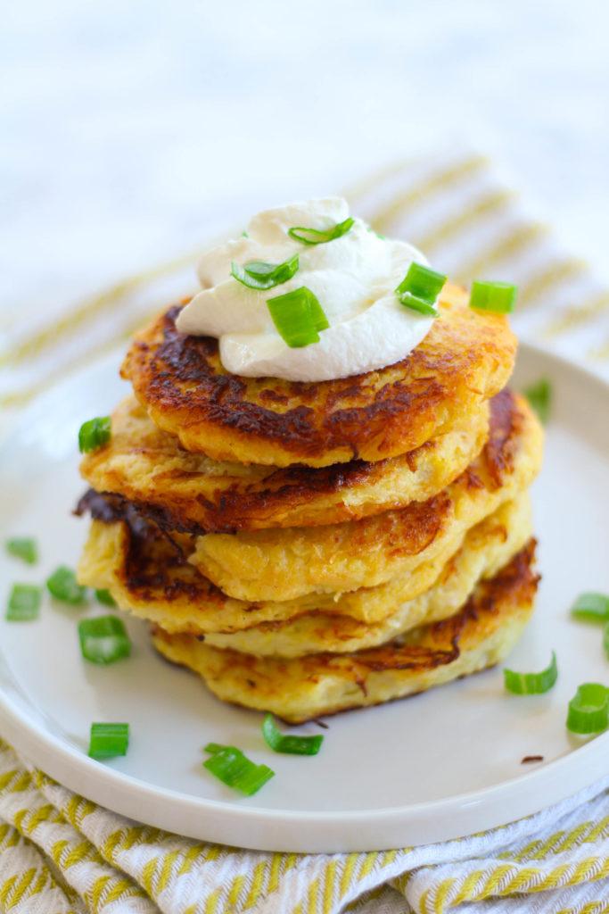 Spaghetti Squash Pancakes | Zen & Spice