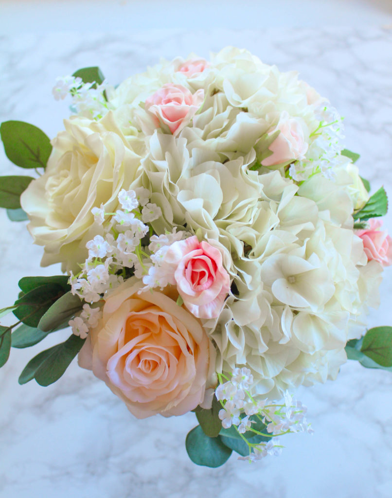 How To Make A Silk Flower Bridal Bouquet Zen Spice