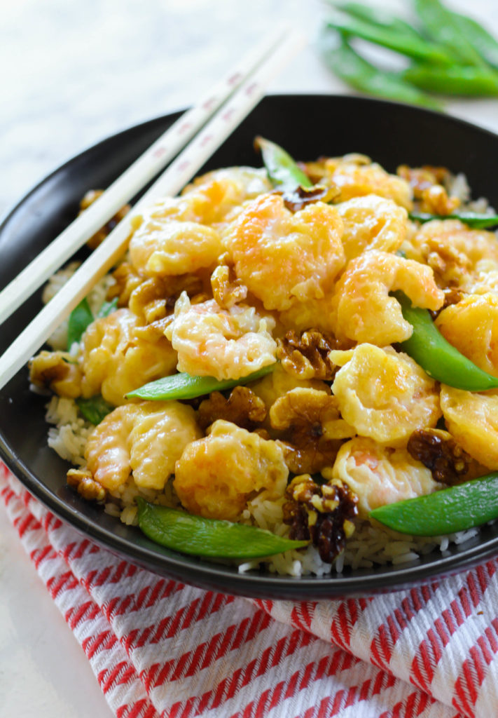Honey Walnut Shrimp | Zen & Spice