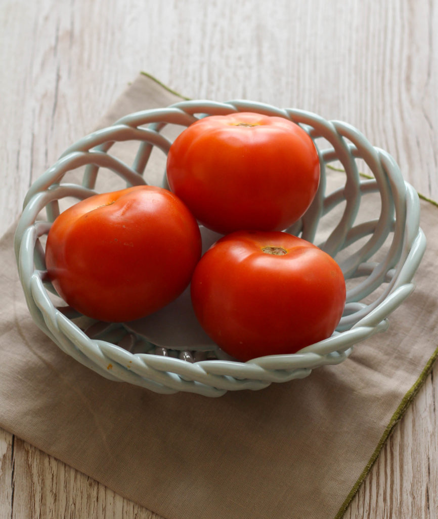 Baked Parmesan Tomatoes | Zen & Spice