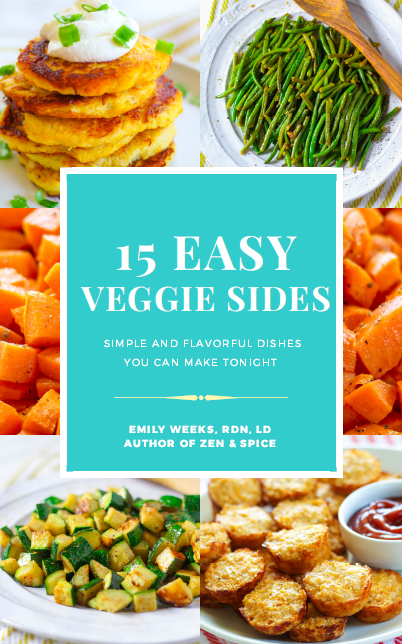 Free E-book: 15 Easy Veggie Sides - Simple and Flavorful Side Dishes You can Make Tonight!