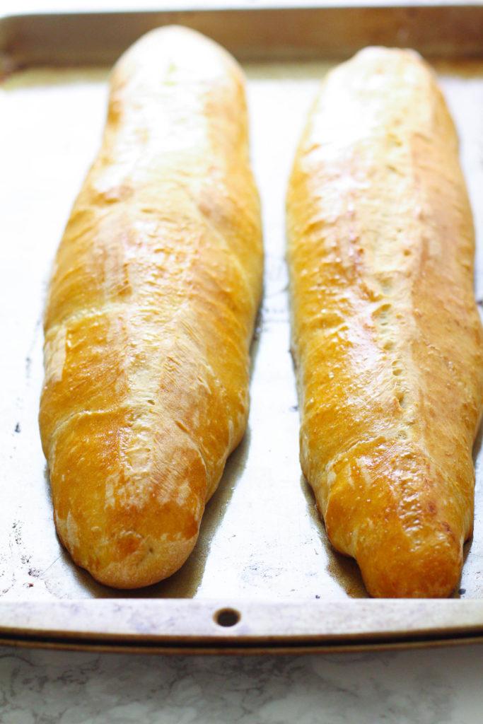 Homemade French Bread   Bread Machine Recipe   French Bread Recipe   Homemade Bread   Homemade Sub Rolls