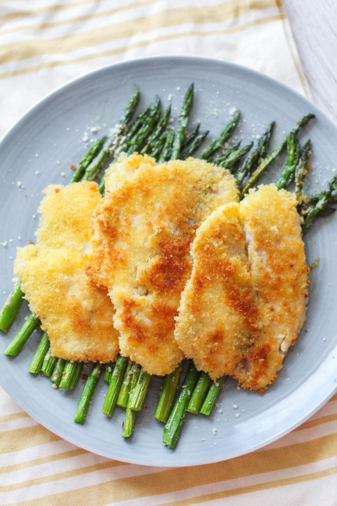 Simple Panko Crusted Tilapia   Tilapia Recipe   Dinner Recipe   Seafood Dinner   Spring Dinner Ideas