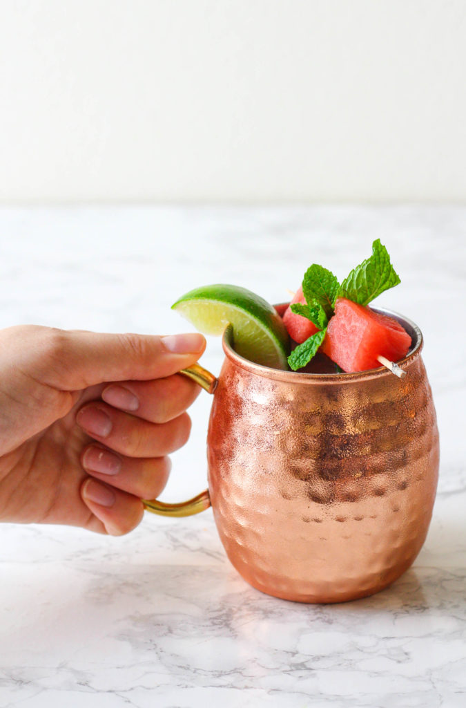 Watermelon Mint Moscow Mule