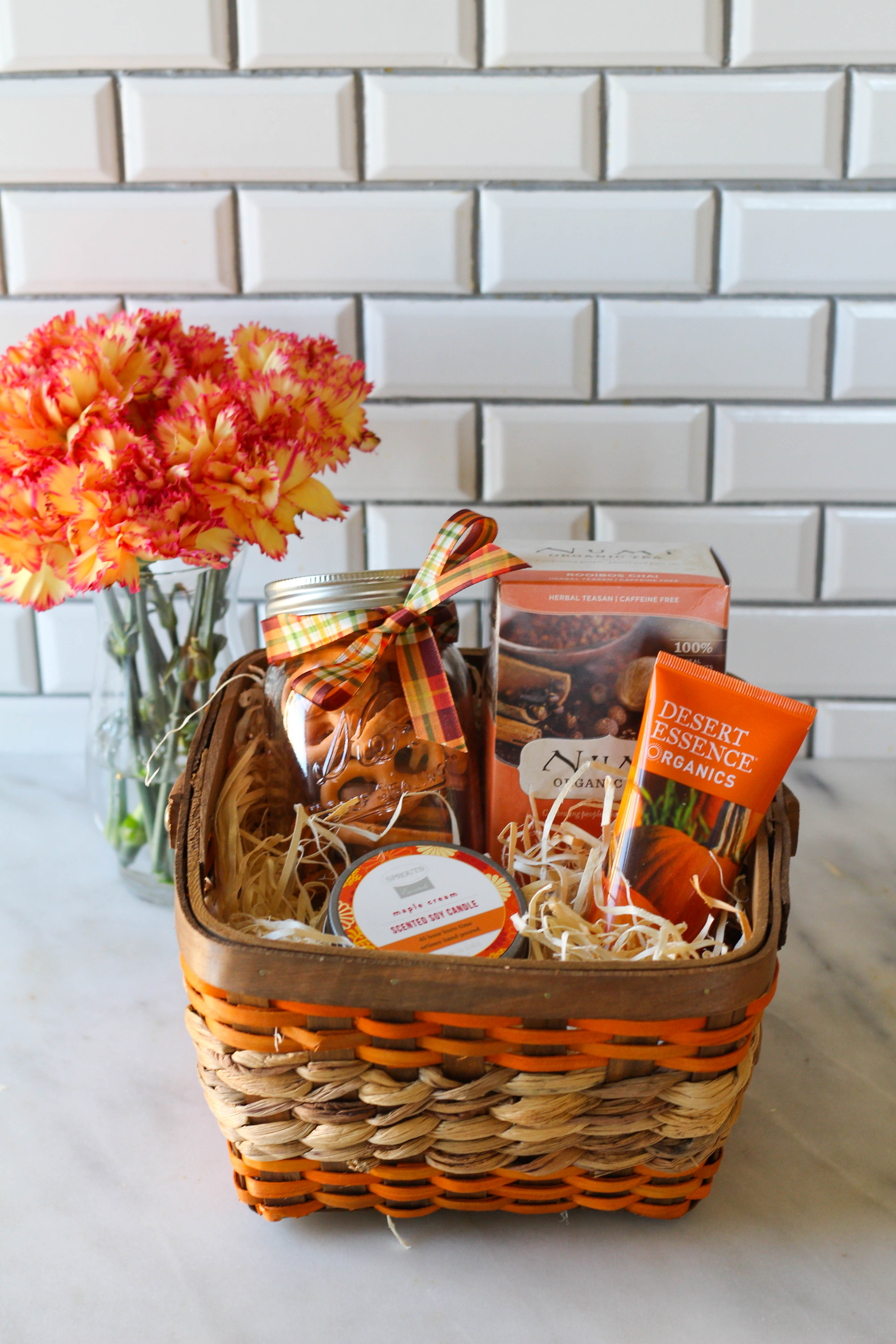 How to Build a Fall Care Gift Basket