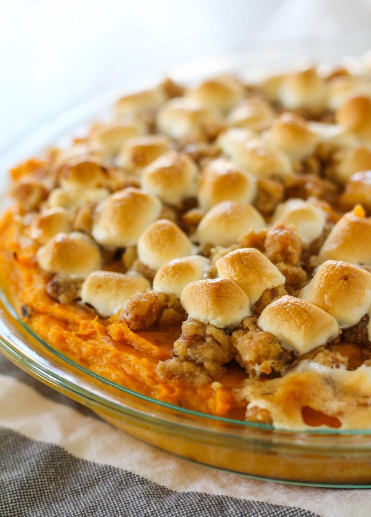Instant Pot Sweet Potato Casserole Thanksgiving Sides