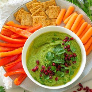 spinach hummus-5