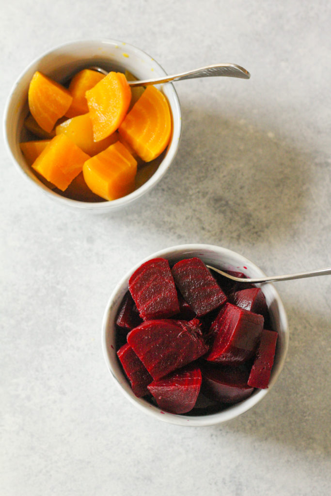 Fresh beets are abundant at the grocery store and farmer's markets this time of year. They may be beautiful -- but just what do you do with them? These pickled beets will last for weeks in the fridge and taste delicious!