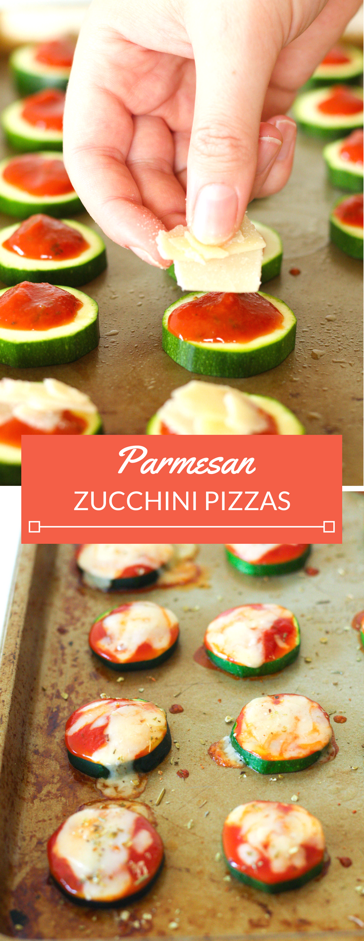 Quick Veggie Side: Parmesan Zucchini Pizzas