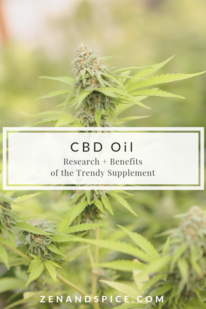 CBD Oil: Research and benefits of the trendy supplement